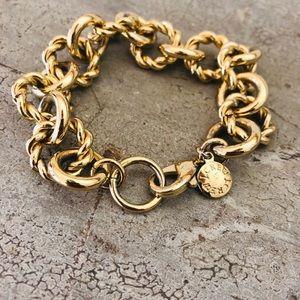 ♥️ J. Crew ♥️ Gold Link Bracelet